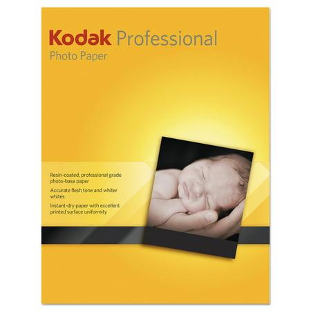 Kodak Professional Inkjet Photo Paper, Matte, 10.9 mil, 8 1/2 x 11, White, 50 Shts/PK
