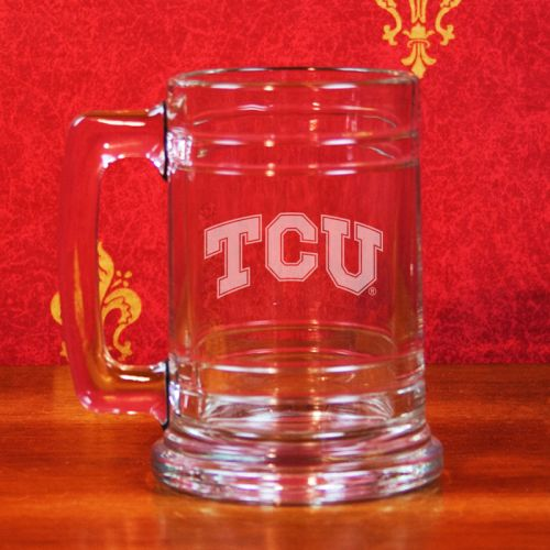 TCU Horned Frogs Deep Etched Colonial Tankard Mug