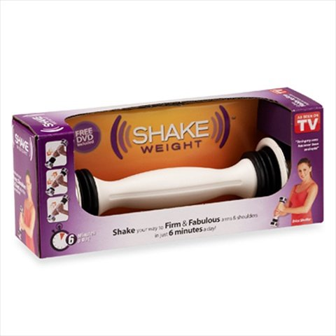Shake Weight Dumbell, Special pulsating dumbbell for shaping and toning upper body By Fitness IQ