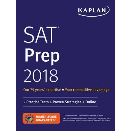 Sat Prep 2018   2 Practice Tests   Proven Strategies   Online
