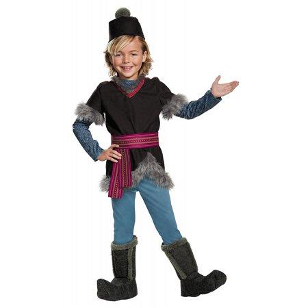 Kristoff Deluxe Child Costume - Small - Kristoff Frozen Costume
