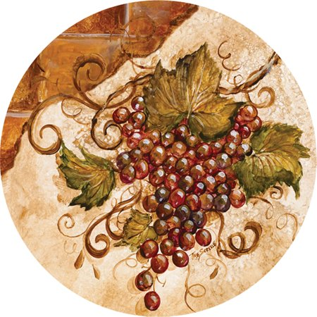 Grapes Coaster (Thirstystone Occasions Drink Coasters,)