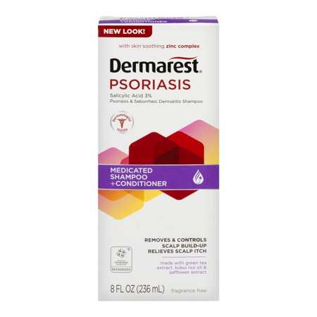 Dermarest Psoriasis Medicated Shampoo Plus Conditioner  8 0 Fl Oz