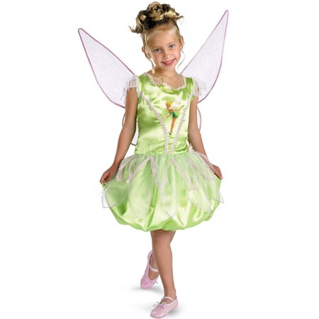 Disney Fairies Tinker Bell Deluxe Child Costume - Disney Tinkerbell Adult Costume