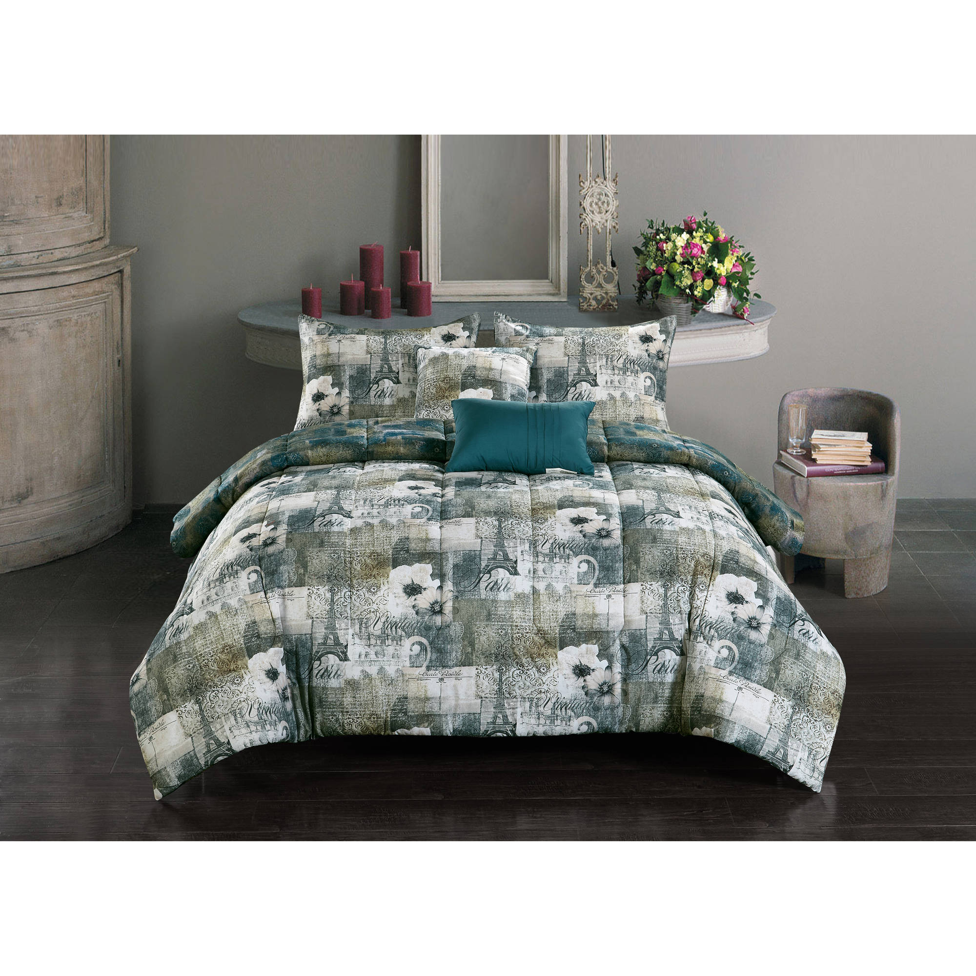 Casa Trianon 5-Piece Bed-in-a-Bag Bedding Set