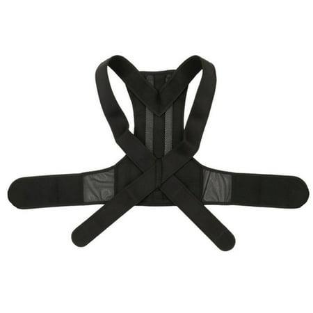 Posture Corrector for Men Women and Kids Back Brace Adjustable Straps Shoulder Support Trainer