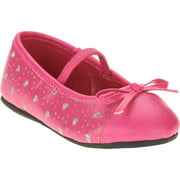 Baby Girls' Laser Cut Ballet Flat