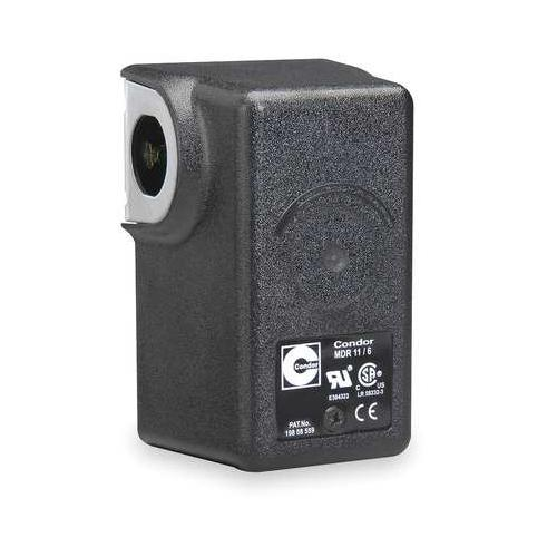 "CONDOR USA, INC 11KAXX Pressure Switch, DPST, 140/175psi, 1/4""FNPT"