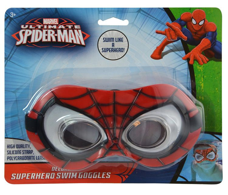 Marvel Marvel Comics Ultimate Spider-Man Swim Goggles Novelty Character Water Toys by United Pacific Design