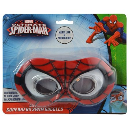 Marvel Marvel Comics Ultimate Spider-Man Swim Goggles Novelty Character Water Toys - Novelty Goggles
