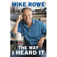 The Way I Heard It (Hardcover)(Large Print)
