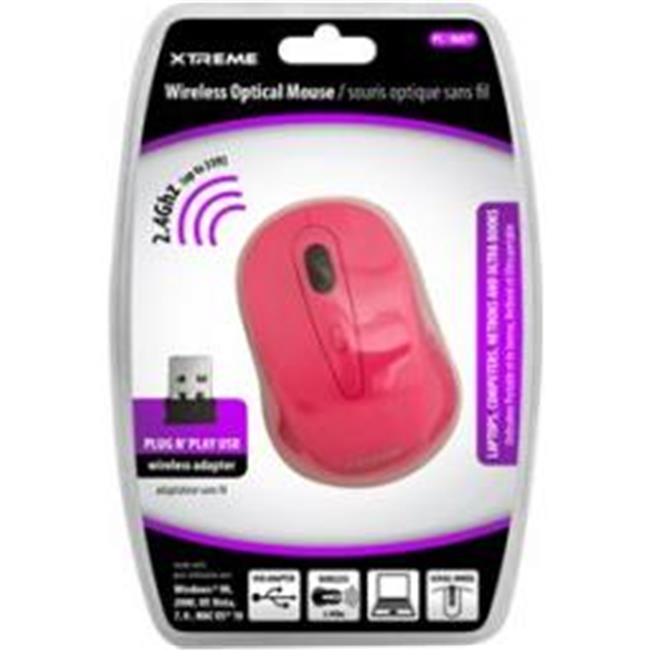 Xtreme Cables 95903 2.4 ghz. Wireless Optical Mouse - Pink