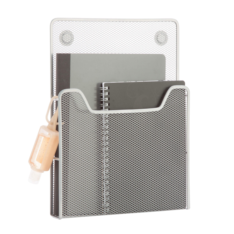 Honey Can Do eXcessory Mesh Magnetic Folder & Paper Holder, Multicolor
