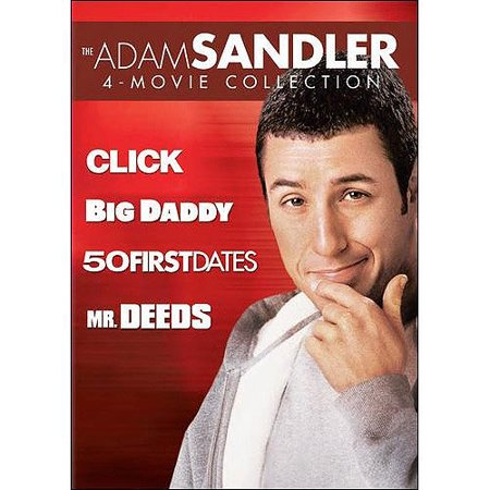 The Adam Sandler 4 Movie Collection  Click   Big Daddy   50 First Dates   Mr  Deeds  With Instawatch   Widescreen
