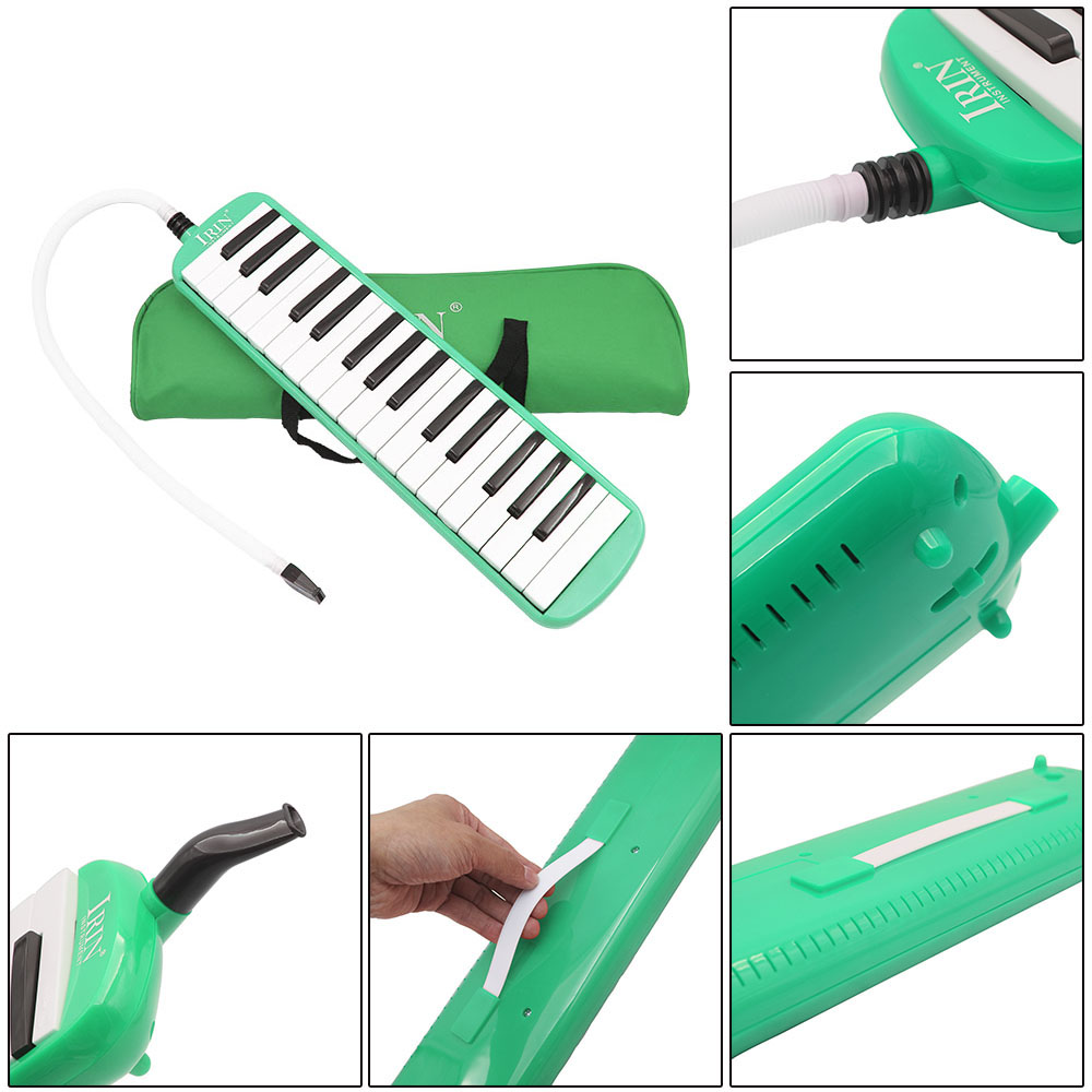 ammoon 32 Piano Keys Melodica Musical Education Instrument for Beginner Kids Children Gift with Carrying Bag