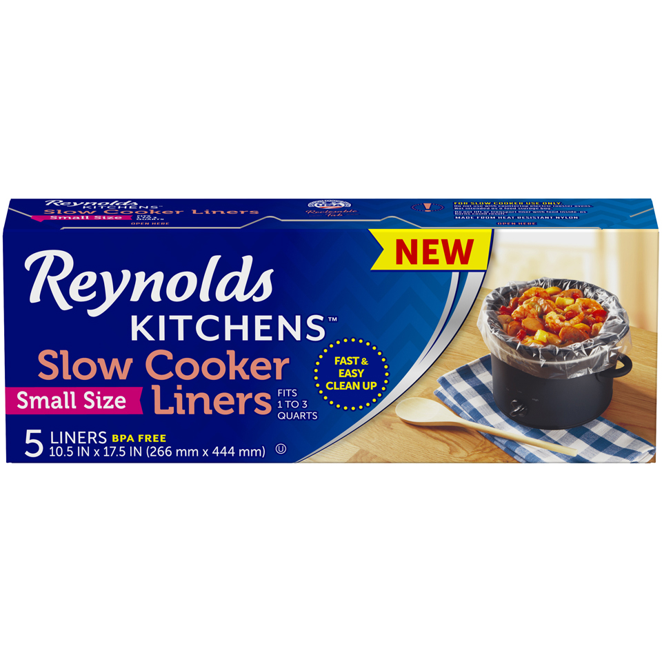 Reynolds Kitchens Slow Cooker Liners, Small