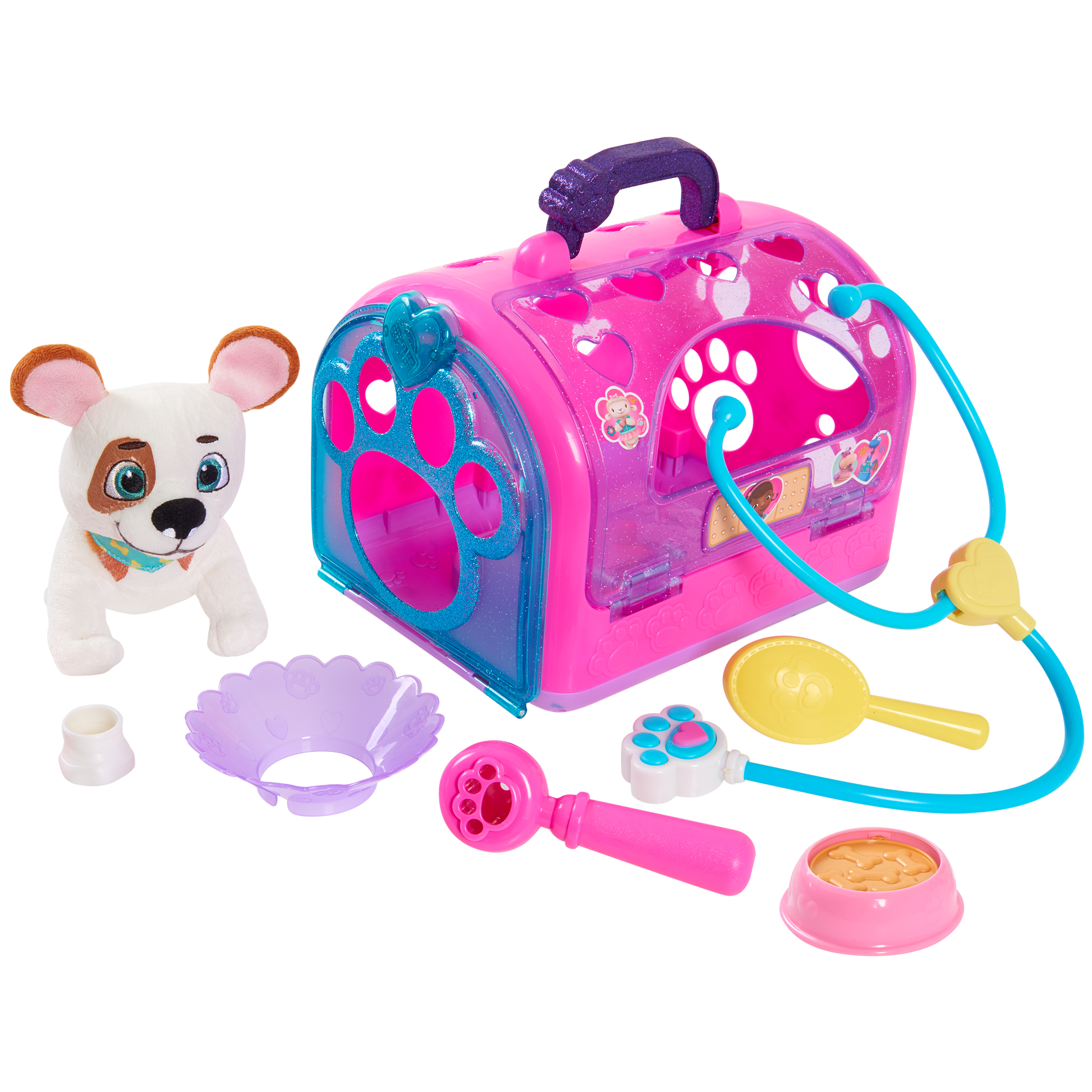Doc McStuffins Vet Carrier Assortment- 3746