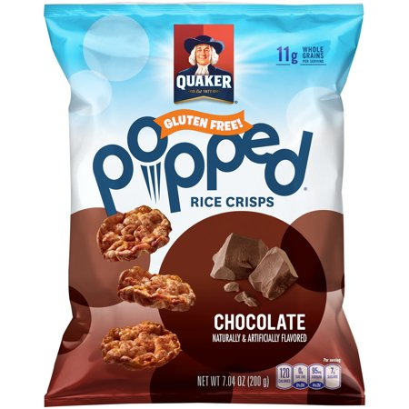 Are Quaker Oats Popped Rice Cakes Gluten Free