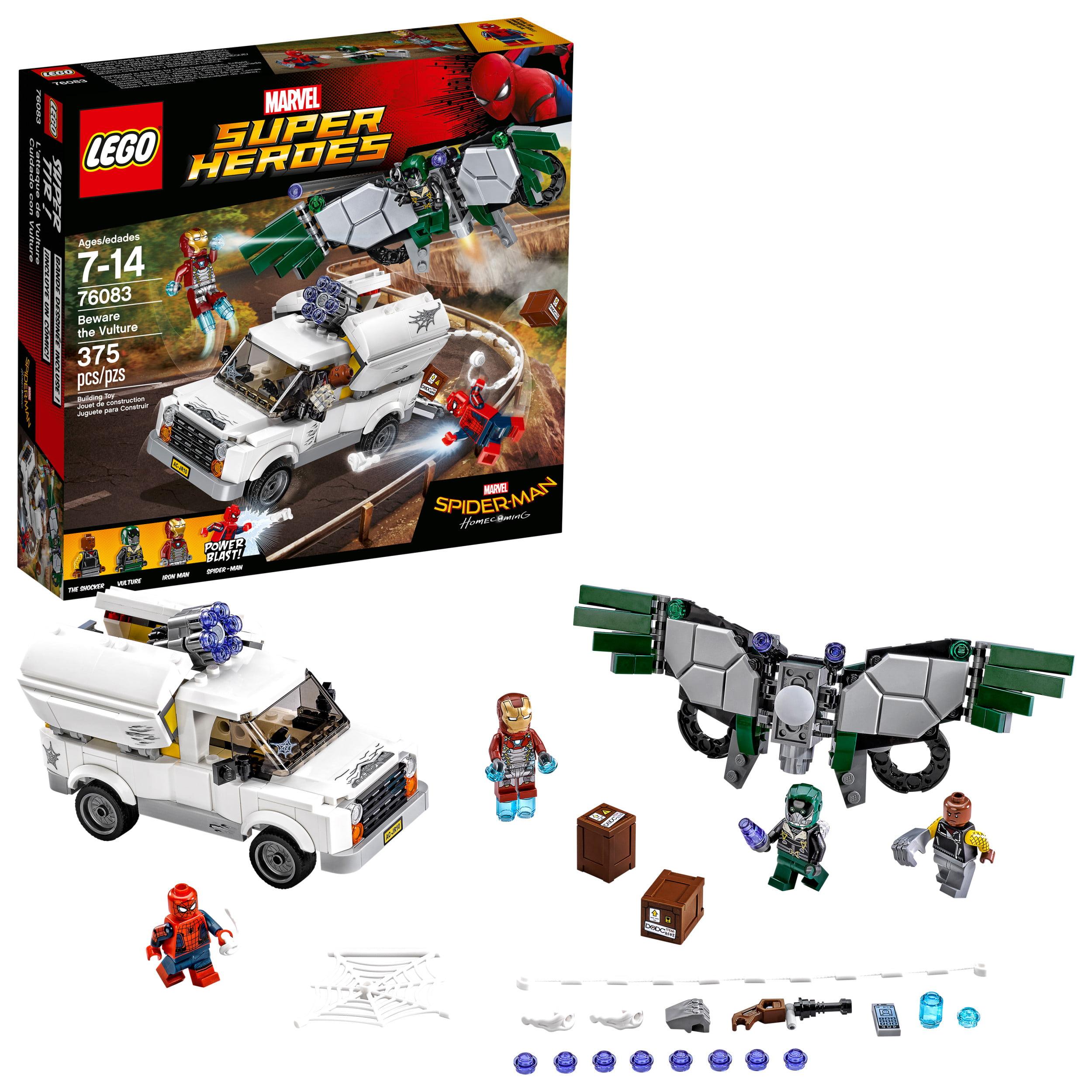 102544ade1871 LEGO Super Heroes Beware the Vulture 76083 (375 Pieces) - Walmart.com