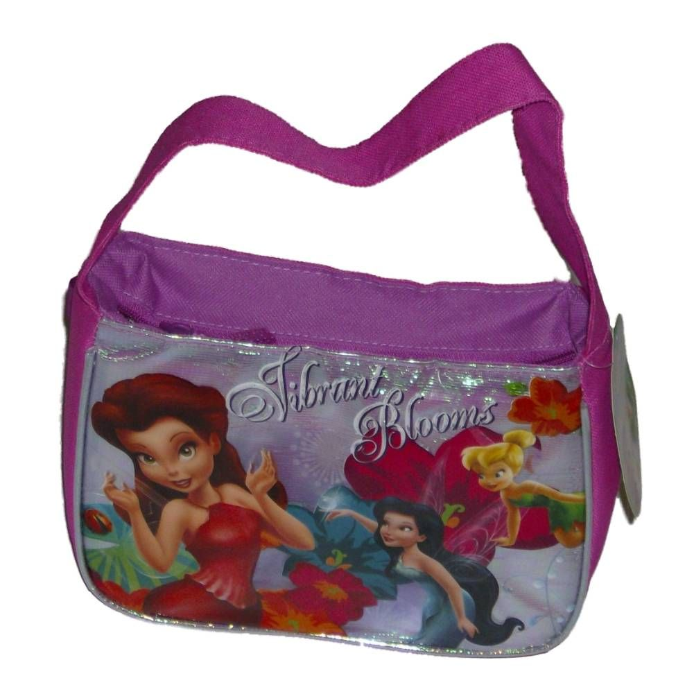 Disney Fairies Vibrant Blooms Soft Lunch Box Insulated Bag Tinkerbell Lunchbox