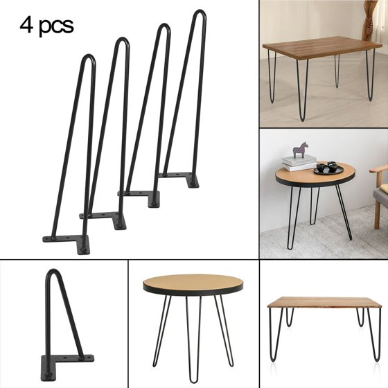 18 inch 10mm heavy duty angled design dining table desk for 10 inch table legs