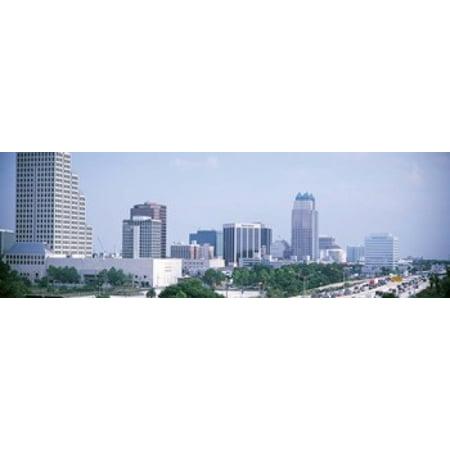 Skyline & Interstate 4 Orlando FL USA Poster Print - Party City In Orlando Fl
