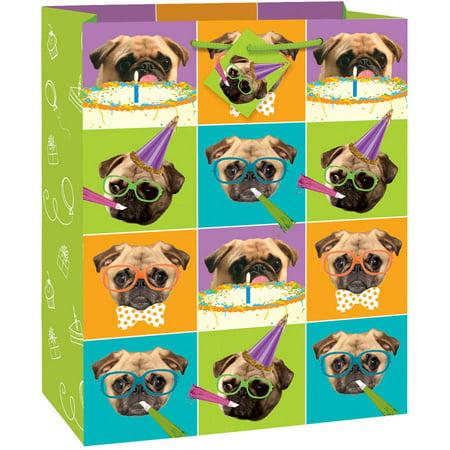 Pug Dog Party Gift Bag