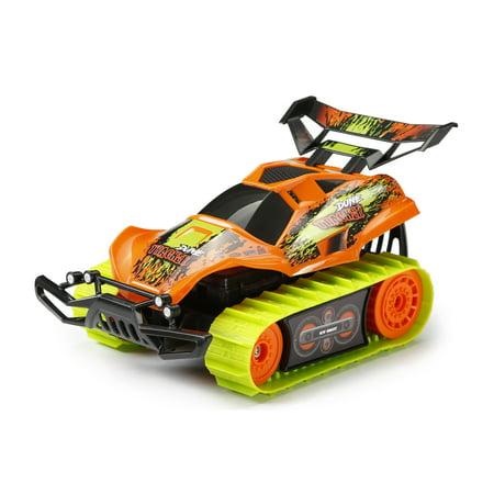 - New Bright RC Dune Tracker Radio Control Stunt Buggy - Orange