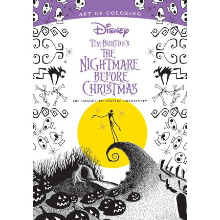 Art Of Coloring  Tim Burtons The Nightmare Before Christmas  100 Images To Inspire Creativity