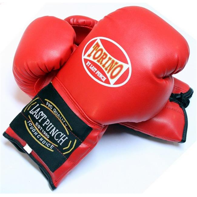 4055-R Red Torino Boxing Gloves Heavy Duty, 12 oz