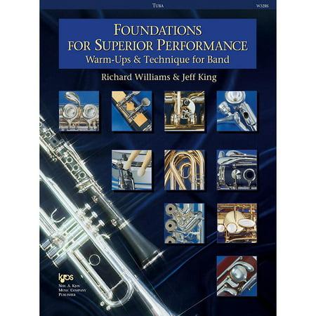 KJOS Foundations for Superior Performance Tuba