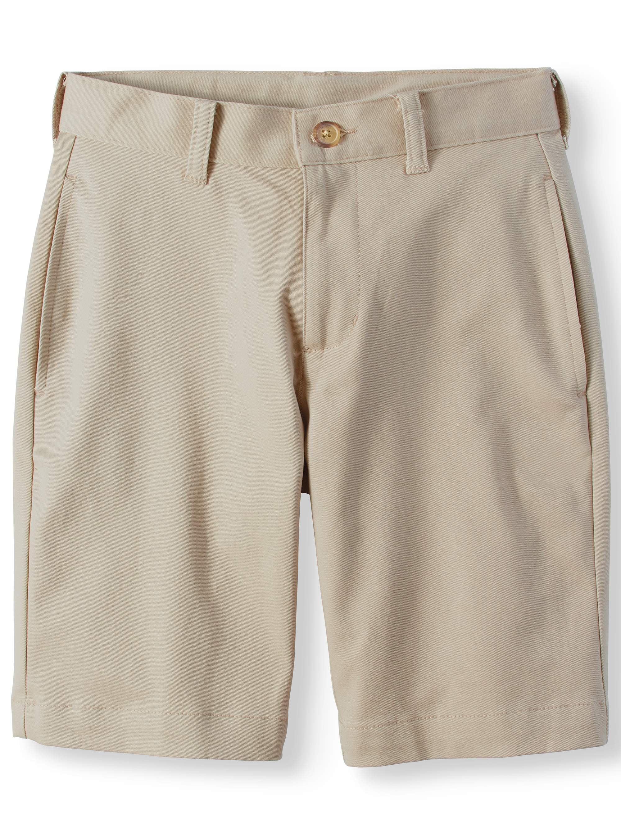 Boys Shorts George Bermuda Navy Blue Khaki  7 8 10 14 Husky 16 18 Flat front