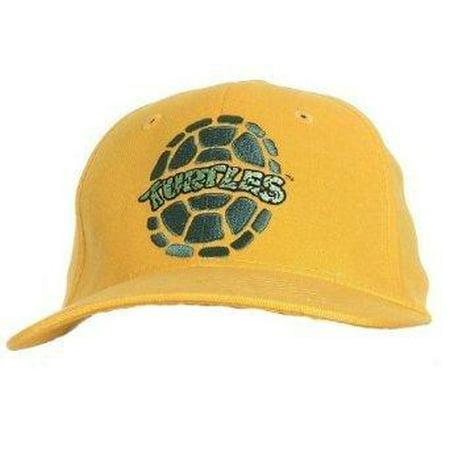 TMNT Teenage Mutant Ninja Turtles Fitted Hat, Yellow [Apparel]