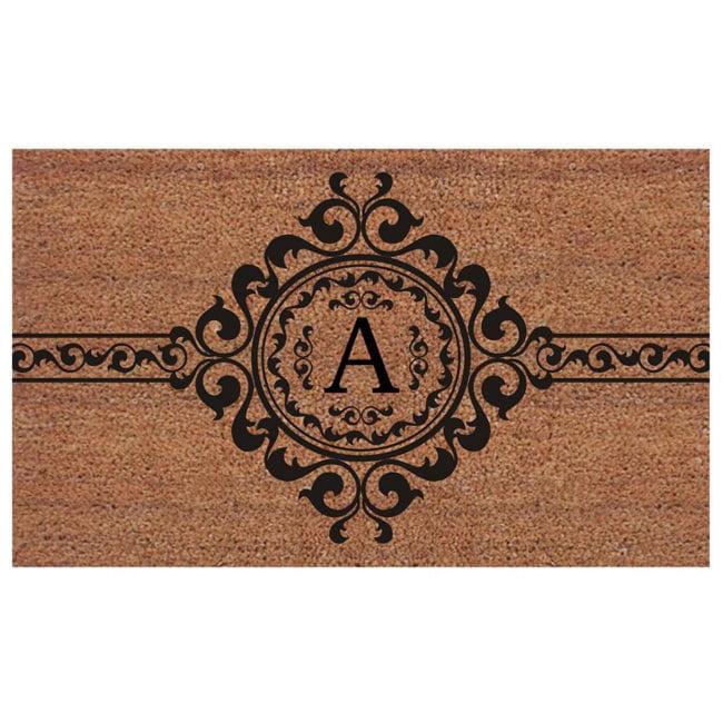 Momentum Mats Handmade Garbo Extra-thick Monogrammed Doormat (2' x 3') by Supplier Generic