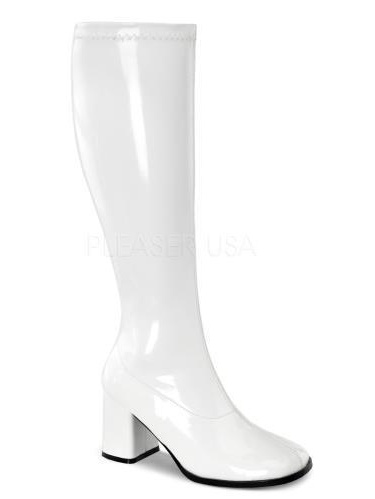 GOGO300WC/W Funtasma Plus Sizes & Wide Width/Shaft Shoes WHITE Size: 12