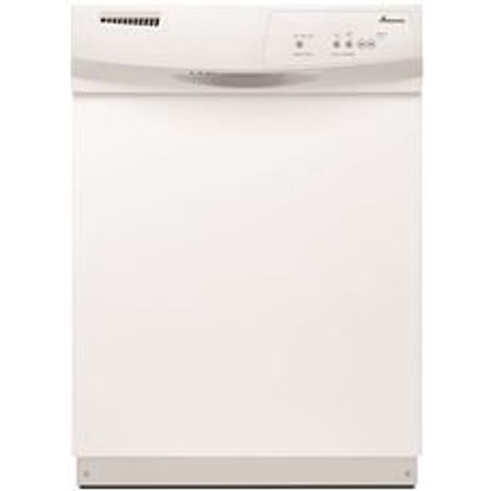 Amana Built In 24  Tall Dishwasher With Electronic Front Controls  White  3 Cycles