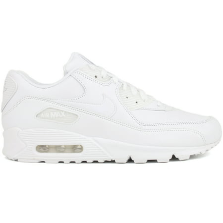 Details about Nike Air Max 90 Leather Men's Shoes White 302519 113
