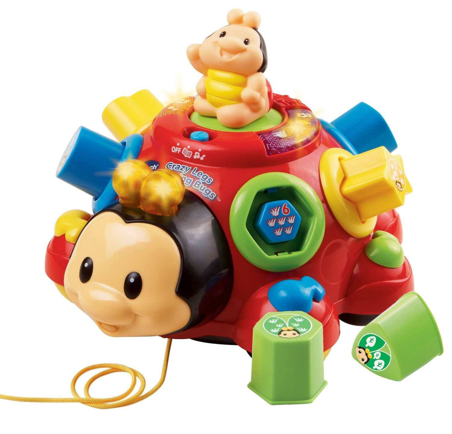 Early Education Toy Crazy Legs Learning Bugs Music Toy for Kids, Ships from United States.... by