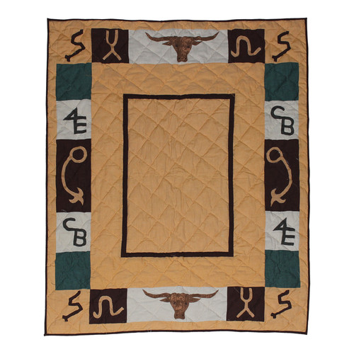 Patch Magic Ranch Trail Cotton Throw