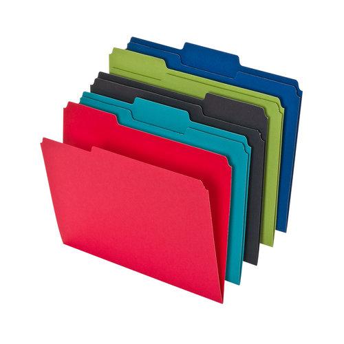 Pendaflex 25ct File Folder, Letter, Assorted