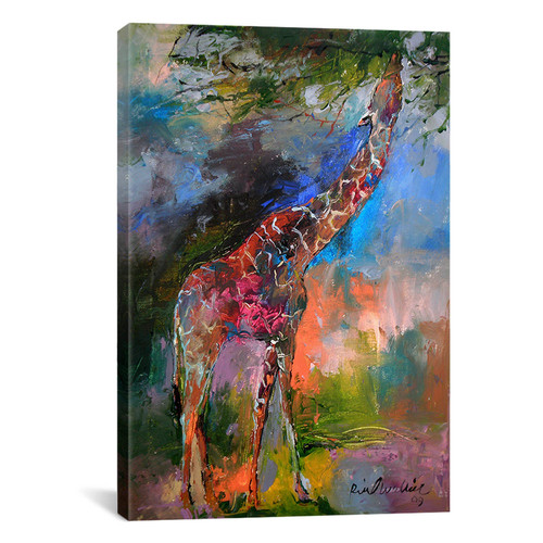 iCanvas 'Giraffe' by Richard Wallich Painting Print on Canvas