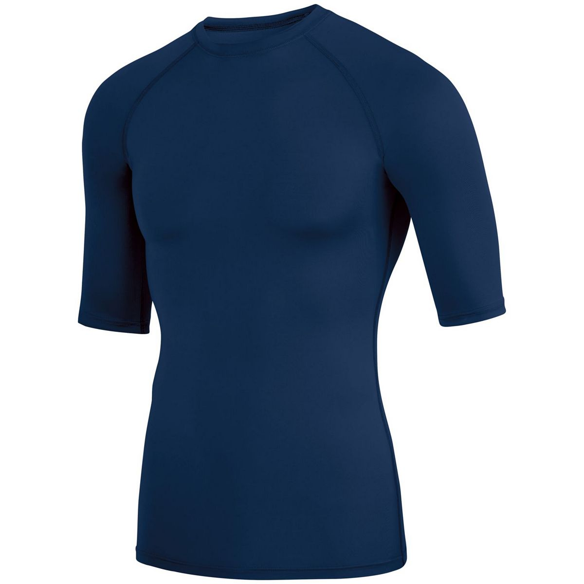 Augusta Hyperform Compression Half Slv Navy S - image 1 de 1