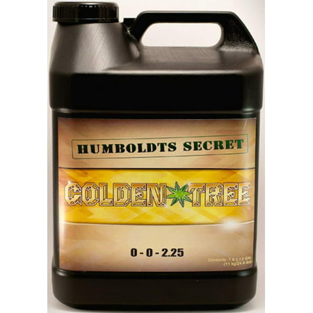 Best Plant Food For Plants and Trees: Humboldts Secret Golden Tree, Explosive Growth, Yield Increaser, Dying Plant Rescuer, Use on Flowers, Roses, Fruit, Vegetables, Tomatoes, Organic (2.5 (Best Manure For Roses)