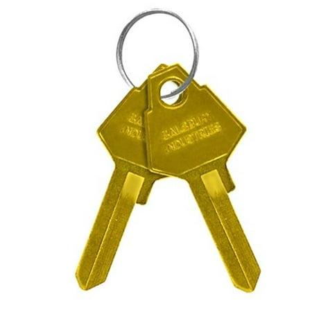 Salsbury 33329 Key Blanks - For Key Padlocks Of Designer Lockers - Box Of 50 - image 1 of 1