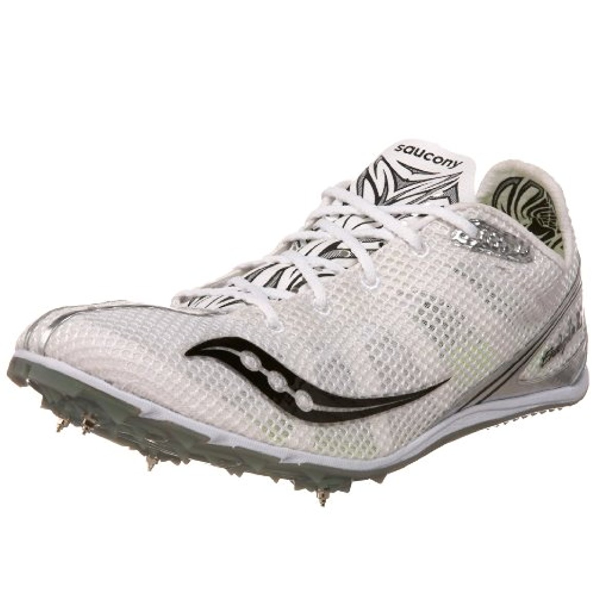 Saucony Men's Endorphin Spike Ld2 Track Spike,11.5 M US,White/Silver/Green