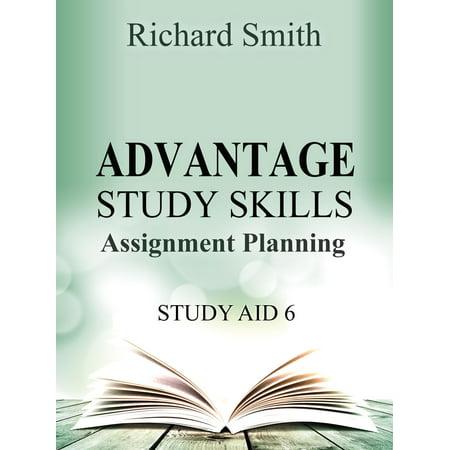 Advantage Study Skllls: Assignment planning (Study Aid 6) - eBook](Halloween Writing Assignments)