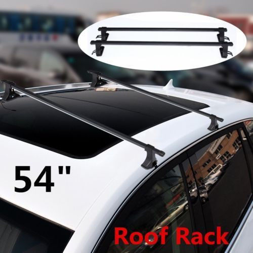 54 Inch Universal Car Top Roof Rack Cross Bars Luggage Carrier For SUV Truck