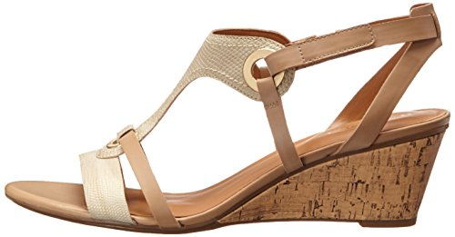 Naturalizer Heston Women Open Toe Synthetic Wedge Sandal by Naturalizer
