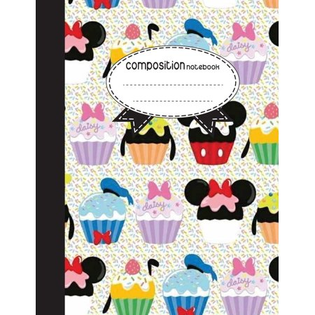 Composition Notebook, 8.5 X 11, 110 Pages: Cupcake Daisy: (Notebooks) (Paperback)