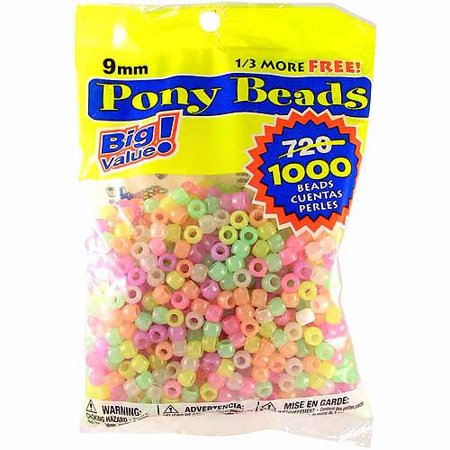 Darice Pony Beads Big Value (New Year Beads)